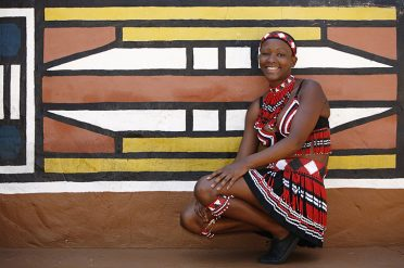 Native African woman, KwaZuluNatal