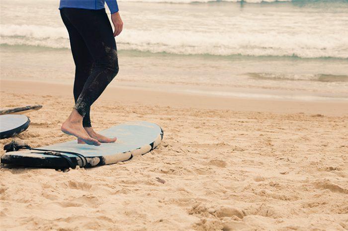 Surf Lesson at Bondi Beach, Sydney