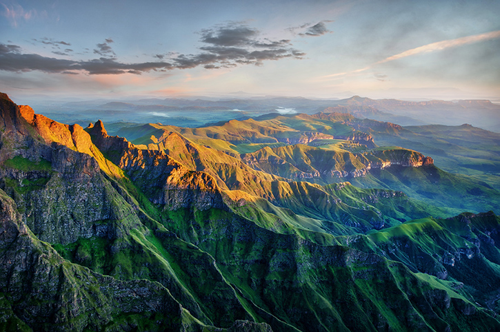 Drakensberg Amphitheatre in South Africa