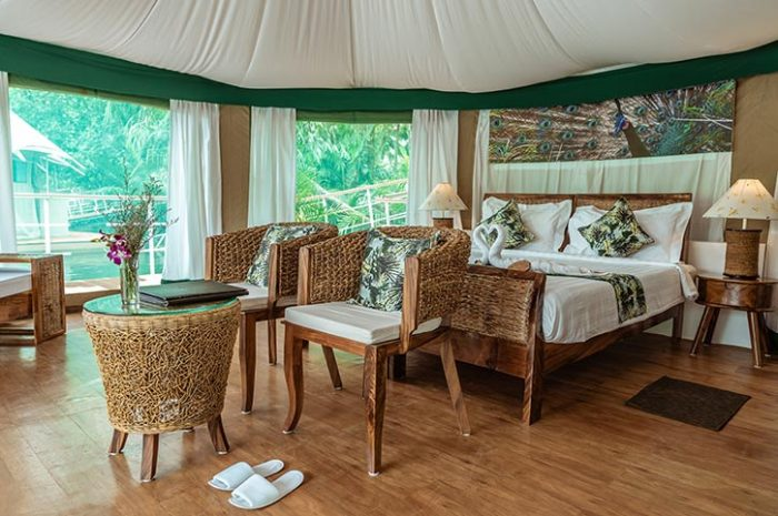 4 Rivers Floating Lodge Tent Interior