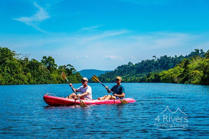 Rivers Lodge River Kayaking