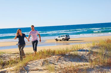4WD On Fraser Island, Queensland