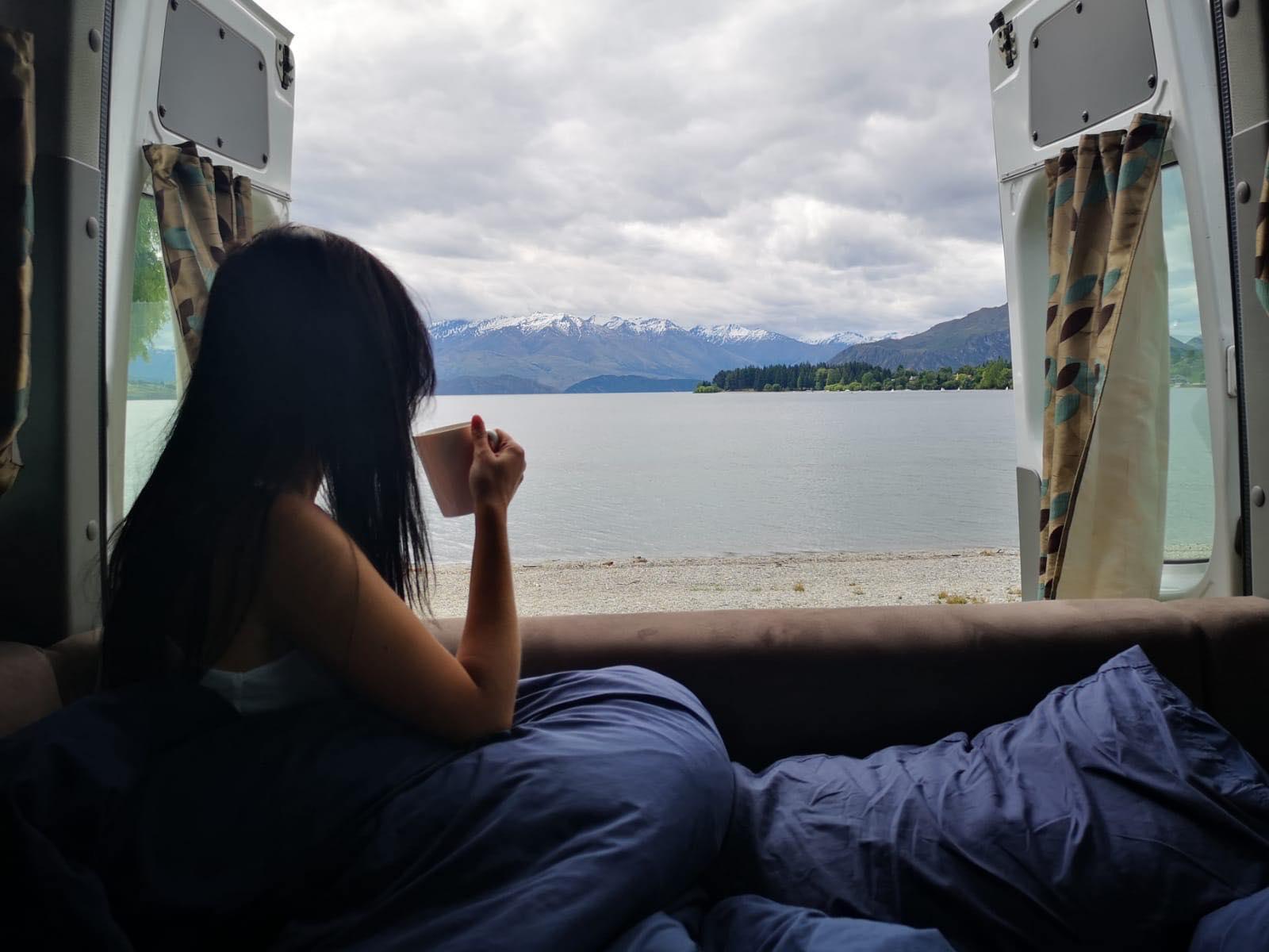 Maui Motorhome Views of New Zealand