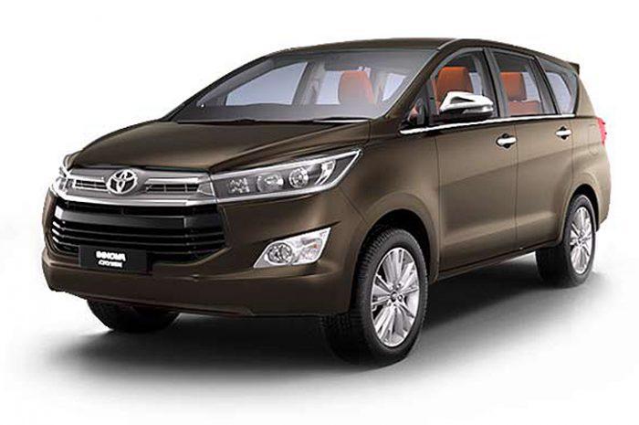 7 Seater Toyota Innova