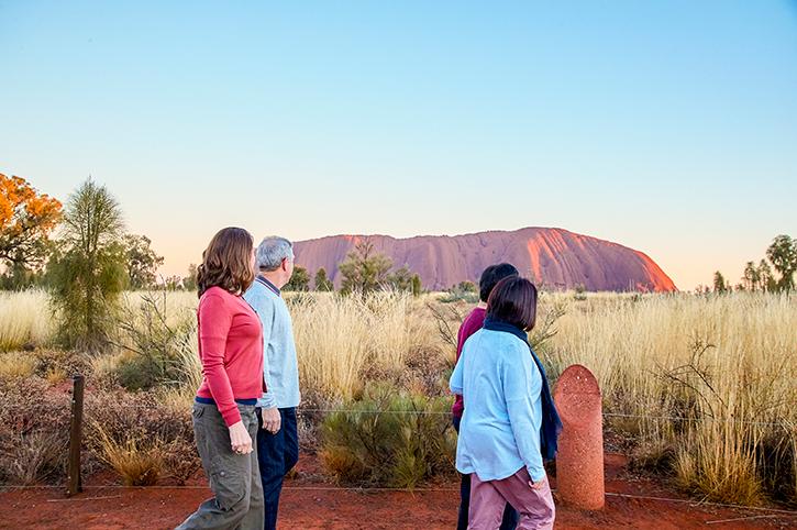 Sunrise at Ayers Rock, Northern Territory, Australia