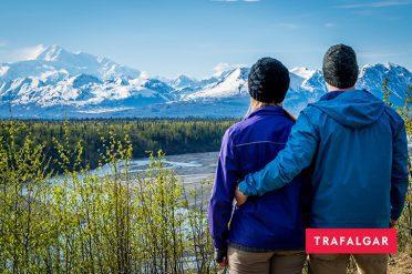 Admiring Scenery, Alaska