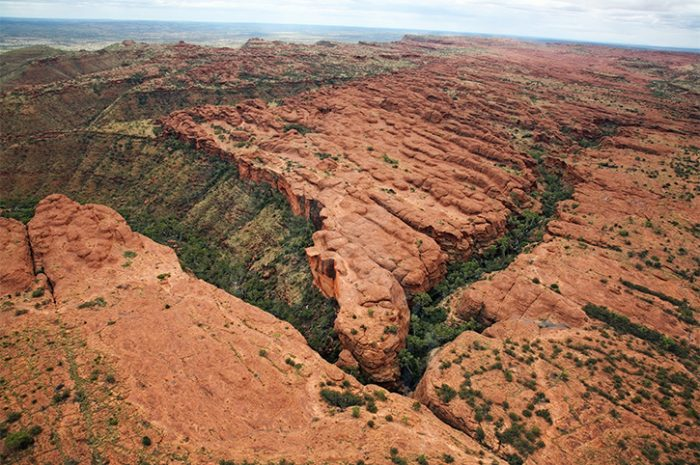 Aerial View of Kings Canyon