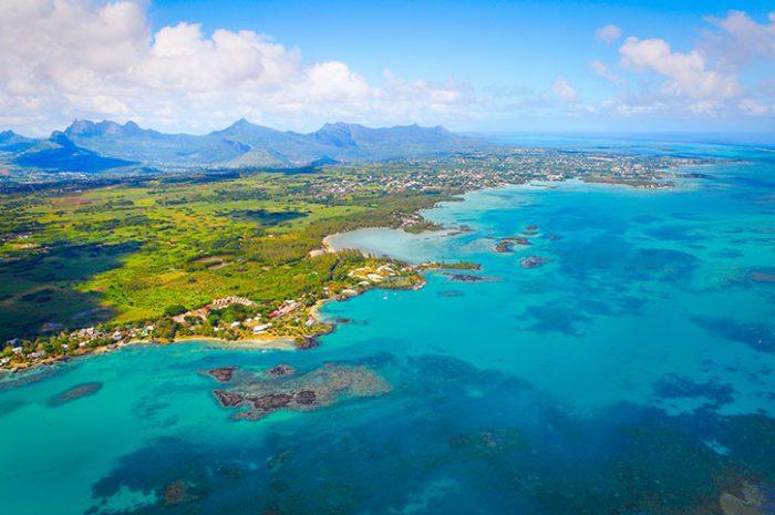 Aerial View, Mauritius