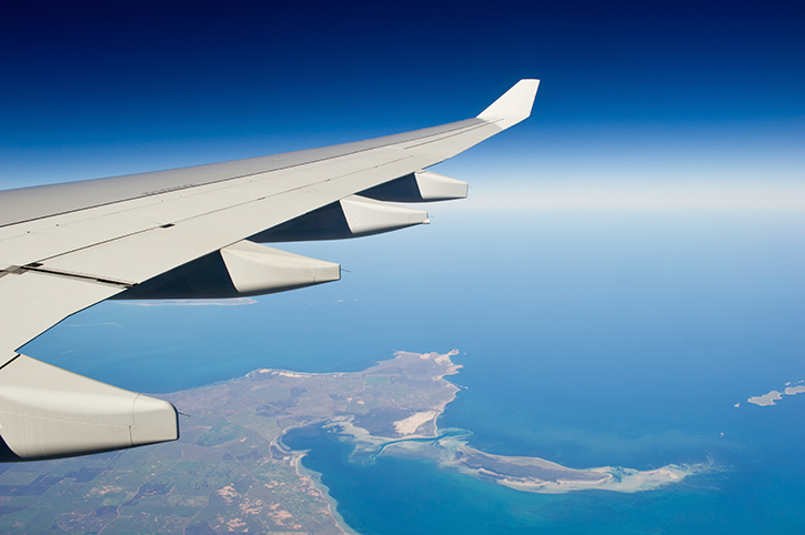 Aeroplane Over South Australia