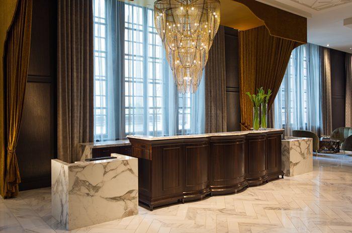 Allegro Hotel Front Desk