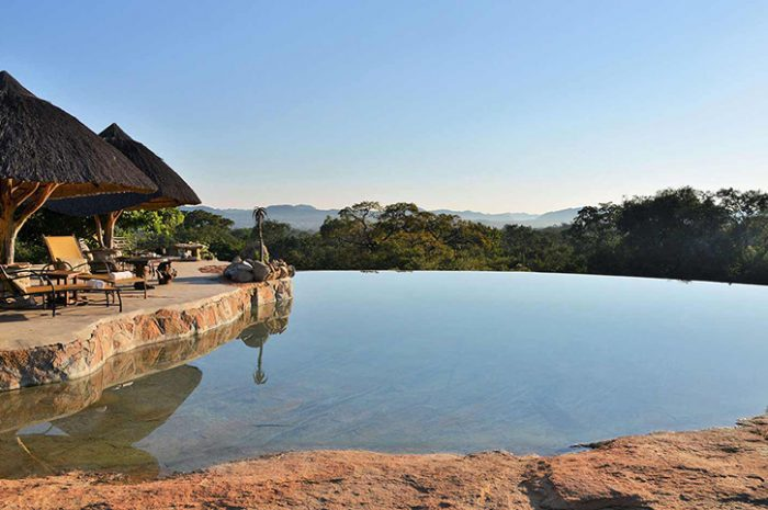 Amalinda Lodge pool