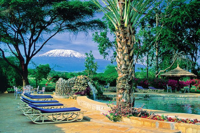 Amboseli Sopa Lodge pool