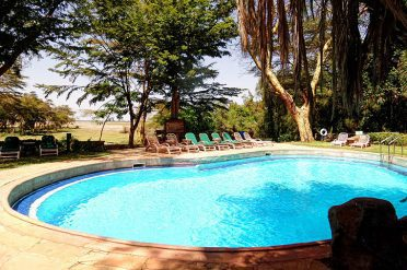 Amboseli Serena Lodge Pool