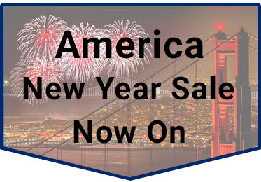 New Year Sale America Widget
