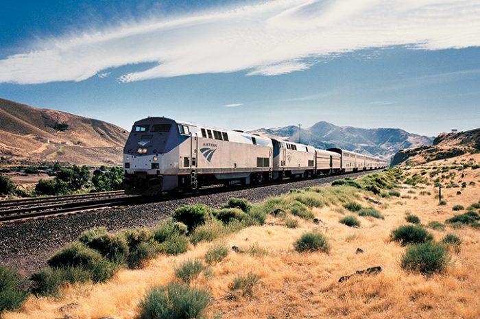 Amtrak train, USA