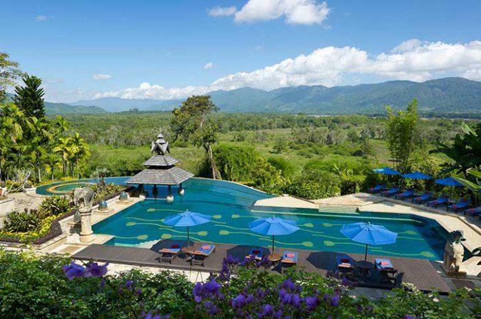 Anantara Golden Triangle Pool, Thailand
