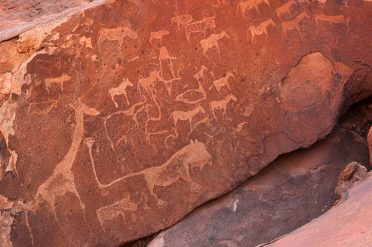 Animal Carvings, Namibia