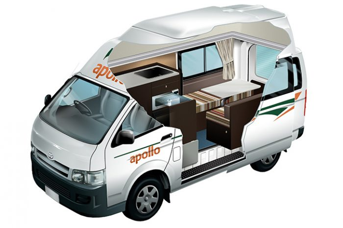 Apollo Hitop Camper Cut Out