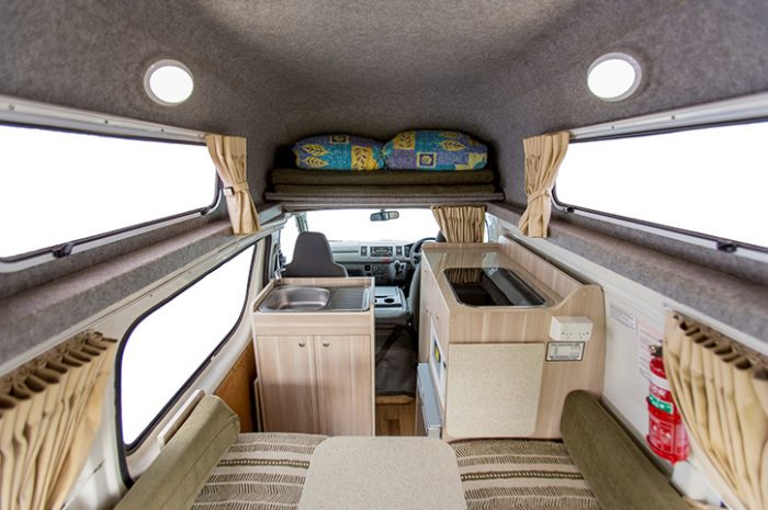 Apollo Hitop Camper Interior