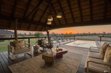 Arathusa Safari Lodge Pool View