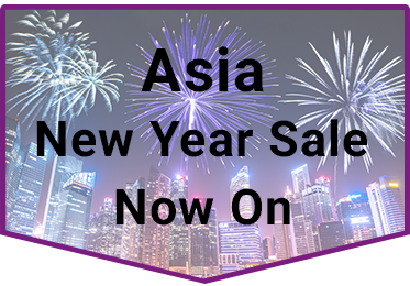New Year Sale Asia Widget