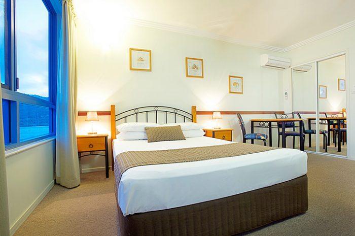 At Vista Holiday Apartments Bedroom