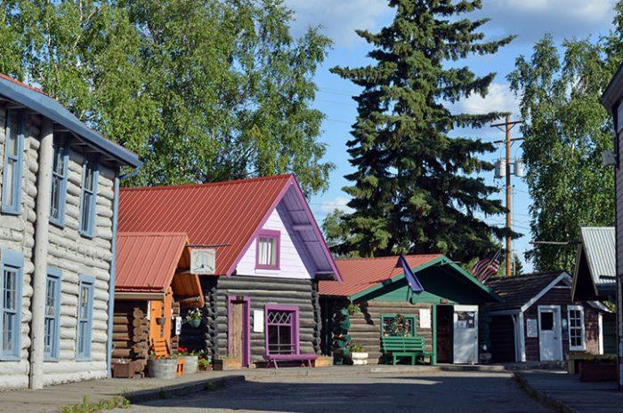 Athabascan Village, Alaska