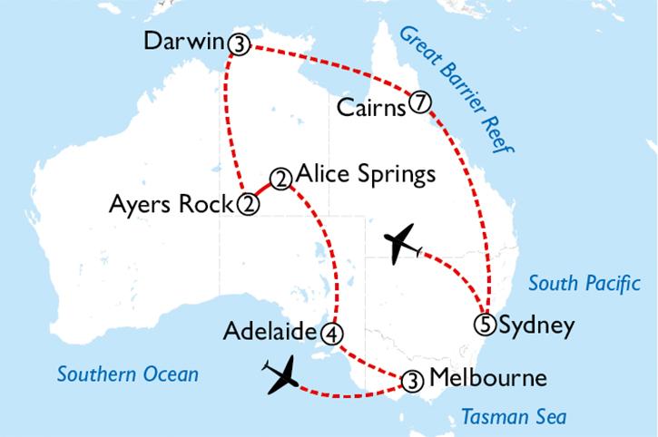 Australia Uncovered 4 Week