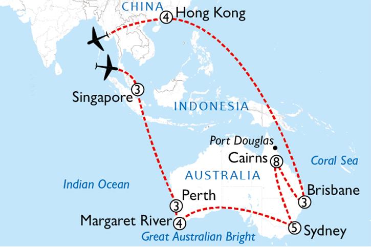 Australia's Gateways 5 Week