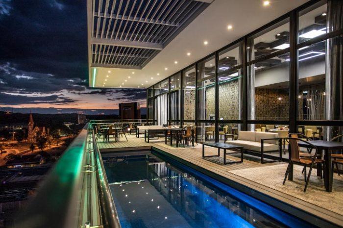 Avani Windhoek Rooftop Views