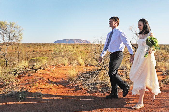 Ayers Rock Wedding