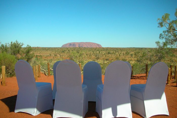 Ayers Rock Wedding
