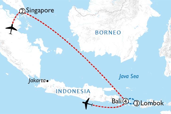 Bali Surprise Map
