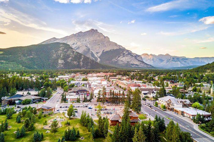 Banff Town, Canada