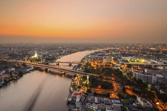 Bangkok River & City