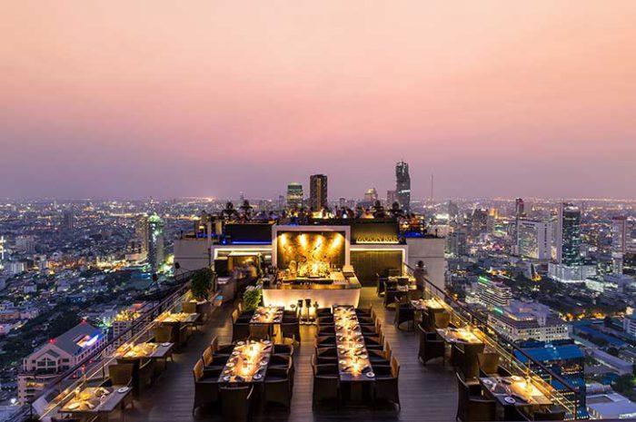 Banyan Tree Bangkok Roof
