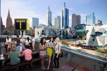 Bar Overlooking Melbourne City