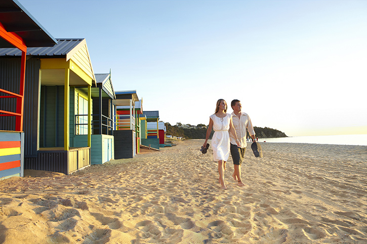 Bathing Boxes, Mornington Peninsula