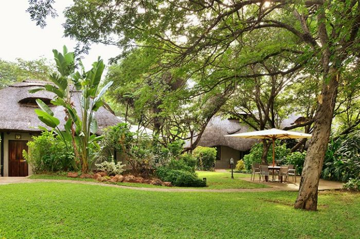 Bayete Guest Lodge Landscaped Gardens