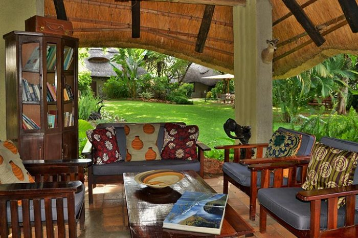 Bayete Guest Lodge Outdoor Lounge