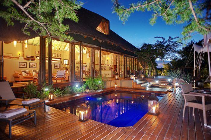 Bayethe Tent Lodge Main Pool And Deck