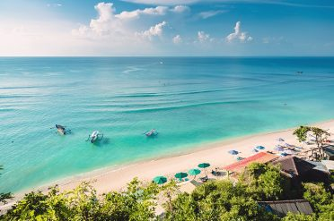 Beach in Bali,-Indonesia
