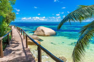Beach Boardwalk, Seychelles