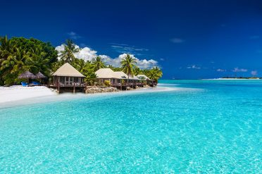 Beach Villason Fijian Island