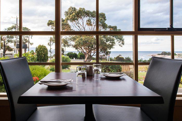 Beachfront Bicheno Restaurant View