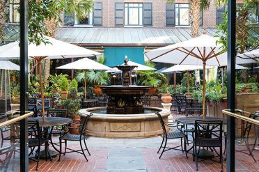 Courtyard, Belmond Charleston Place