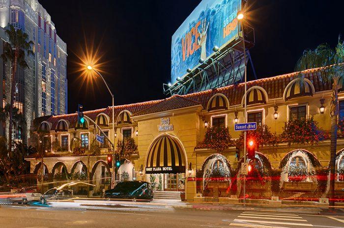 Best Western Sunset Plaza Exterior