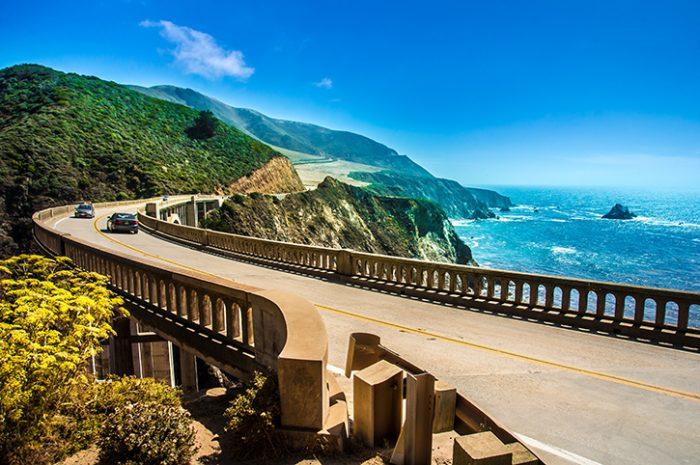 Bixby Creek Bridge, Highway One, San Francisco