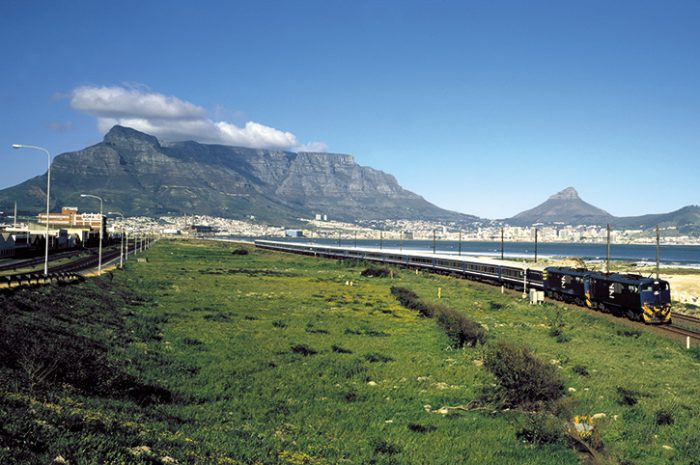 Blue Train near Cape Town