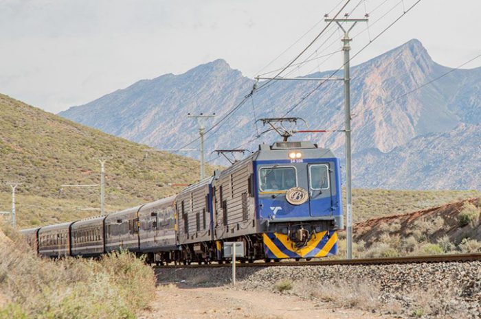 Blue Train Scenery, South Africa